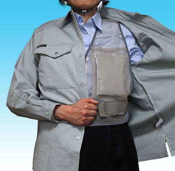 ホレイベストV2は上着を羽織っても目立たない