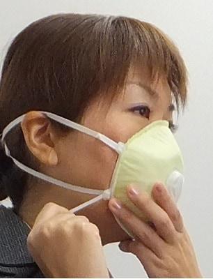 感染対策用強力マスク「うつさんぞ」