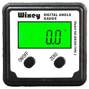 """デジタル角度計""""ここ何度?""""タイプ2(Wixey WR300 Type2)"""