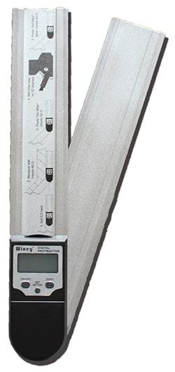 デジタルプロトラクター(分度器)『はさむと何度?』Wixey WR4121(330mmタイプ)