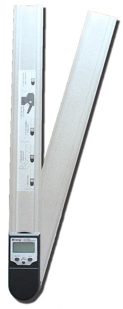 デジタルプロトラクター(分度器)『はさむと何度?』Wixey WR4181(480mmタイプ)