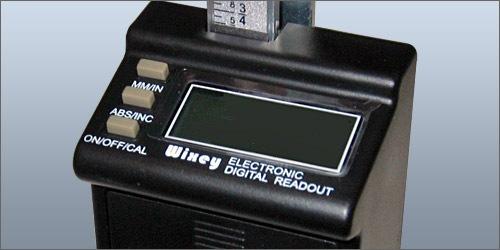 Wixey WR510 自動かんな盤用デジタル目盛