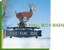 MAIL BOX SIGN