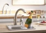 混合水栓にも使える浄水器はサブキッチン浄水器水栓として