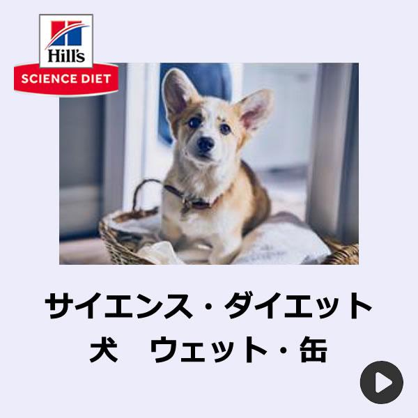 サイエンスダイエット犬ウェット・缶