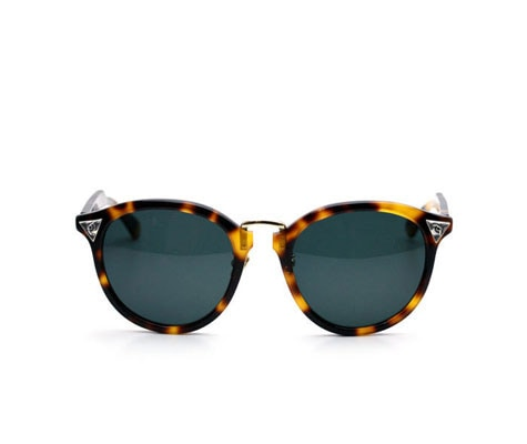 "SUNGLASSES""4 EYED""Brown Demi / Green"