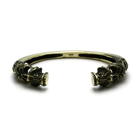 Gleed Skull BANGLEE / Brass