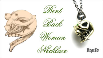 Bent Back Woman Necklace