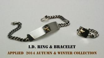 I.D. Ring & bracelet
