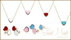 Sweet Heart Necklace & Pierce