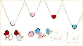 Sweet Heart Necklace & Pierce