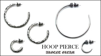 "Argent Gleam Classic ""HOOP PIERCE"""