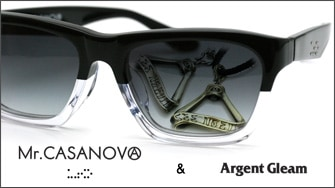 Mr,CASANOVA x ARGENT GLEAM COLLABORATION
