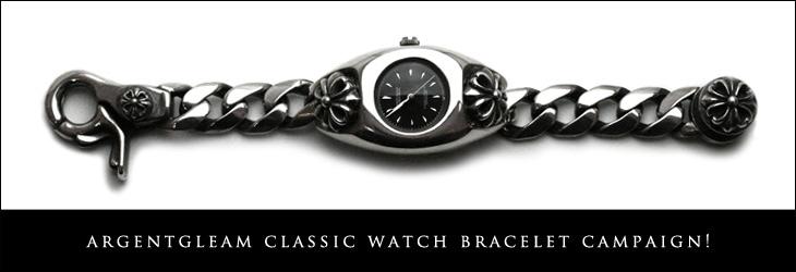 classic watch bracelet campaign