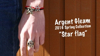 "Argent Gleam 2016 Spring Collection ""Star flag"""