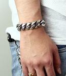 Wide Flat Chain ID Bracelet