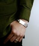 Wide I.D. Bracelet
