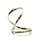 Studs Mobius Ring