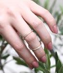 Diamond Mobius Ring
