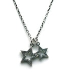STAR HOLE TwinCharm Necklace