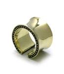 Wide Star Ring / Brass