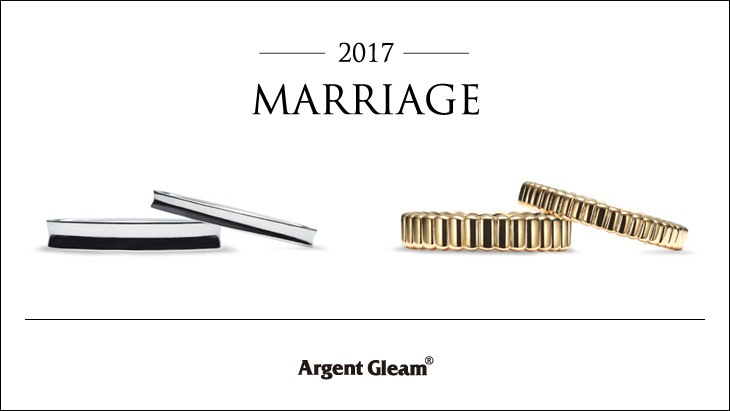 2017 New Marriage Ring Collection