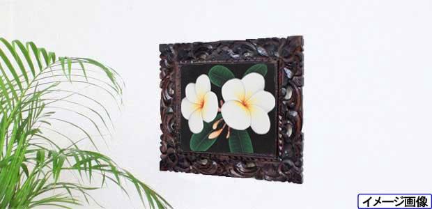 おしゃれな南国の花の絵画