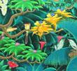 バリ絵画・バリ島の自然を描いた素敵な絵