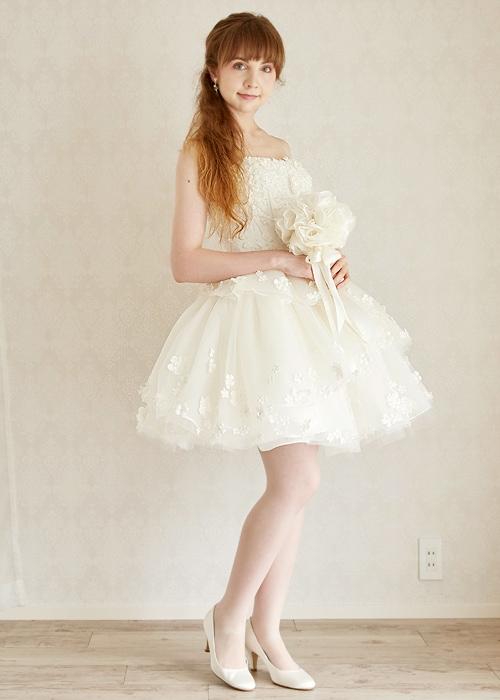 chayさん着用ドレス