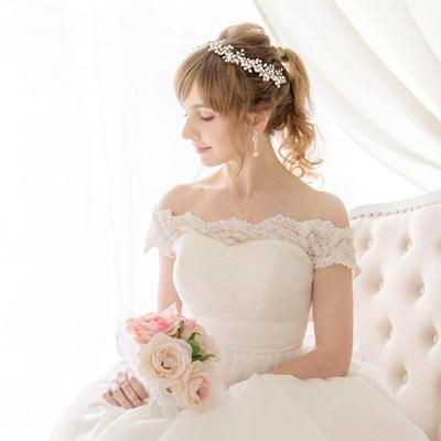 花嫁ドレスコーディネート
