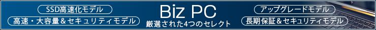 厳選されたカスタマイズPC BizPC