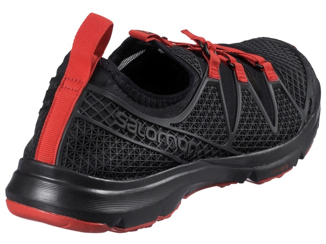 Salomon CROSSAMPHIBIAN クロスアンフィビアン MEN [Black/Black/Radiant Red]
