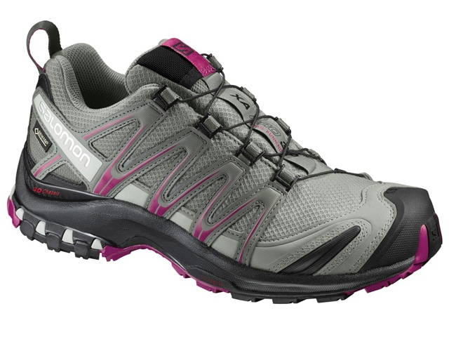 Salomon XA PRO 3D GTX WOMEN L39333100 [Shadow/Black/Sangria] ランニングシューズ サロモン