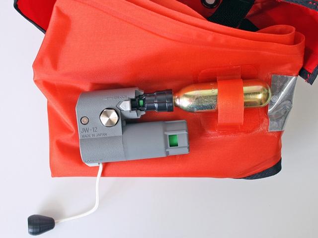 自動膨張式ライフジャケットマリンベスト KK-11小型船舶用作業用救命胴衣ウエストポーチタイプ興亜化工国交省認定品