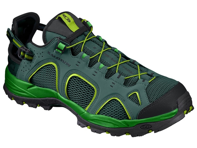 Salomon TECHAMPHIBIAN 3 MEN L39470400 [Bistro Green/CLASSIC GREEN/Lime Green] サンダル&ウォーターシューズ サロモン