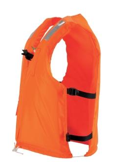 小型船舶用救命胴衣 オーシャンC-3型オレンジ 新基準 船舶検査対応 国交省認定品 津波水害対策