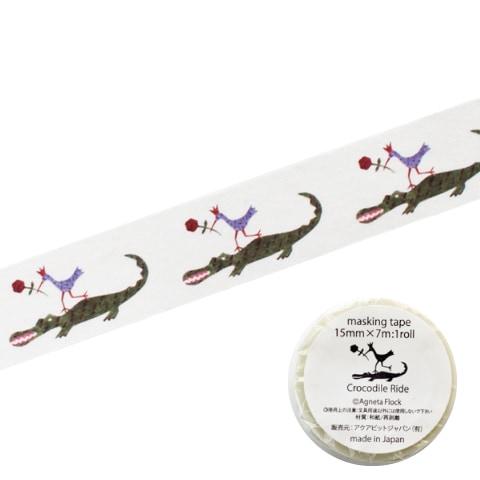 マスキングテープ 「クロコダイルライド Crocodile Ride」