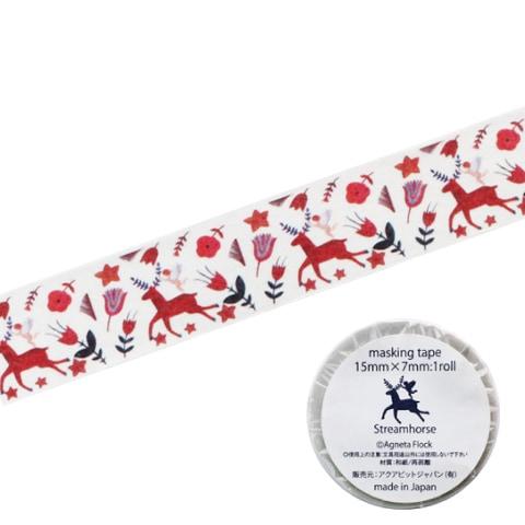 マスキングテープ 「ストリームホース Stream Horse」
