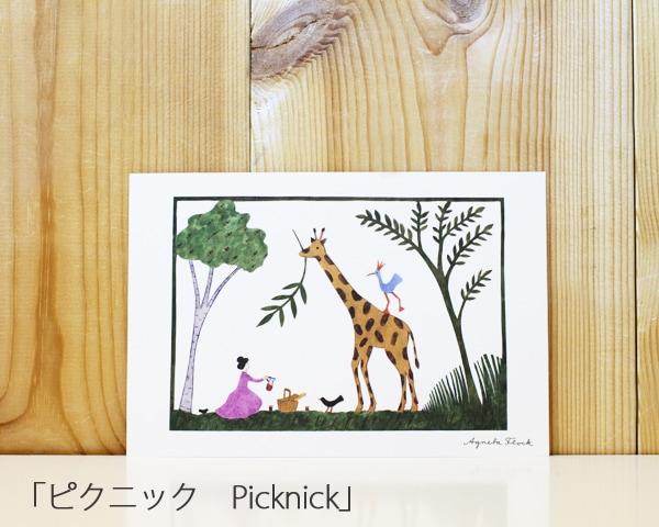 ポストカード「ピクニック Picknick」