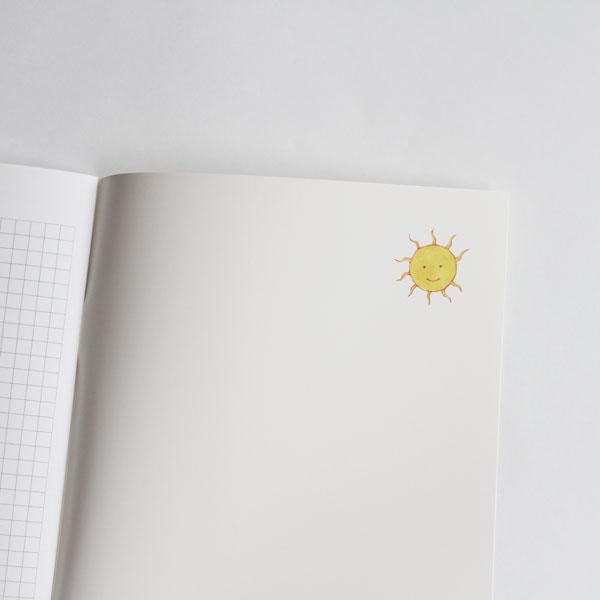 アグネータ・フロック ノート 「アリとキリギリス」