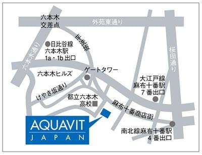 アクアビットジャパン地図