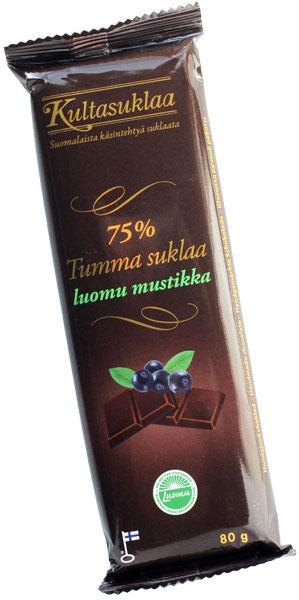 クルタスクラー ブルーベリーダークチョコレート