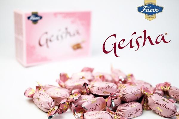 ファッツェル(Fazer) ゲイシャ(Geisha)チョコレート 150g