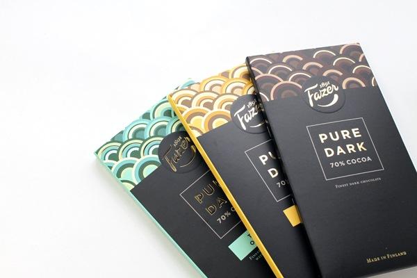 ファッツェル (Fazer) ピュアダーク チョコレート