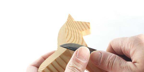 北欧雑貨、自分で作る素木のダーラナホース