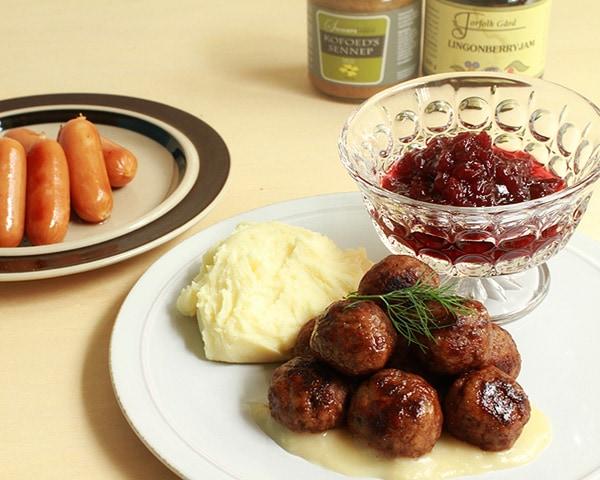 北欧の家庭の味ミートボール