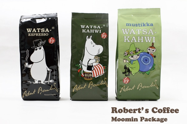 フィンランドのロバーツコーヒーからムーミンパッケージシリーズが登場