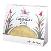 アグネータ・フロック 2016 卓上カレンダー