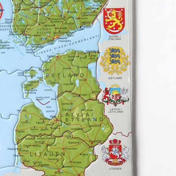 北欧パズル 国章