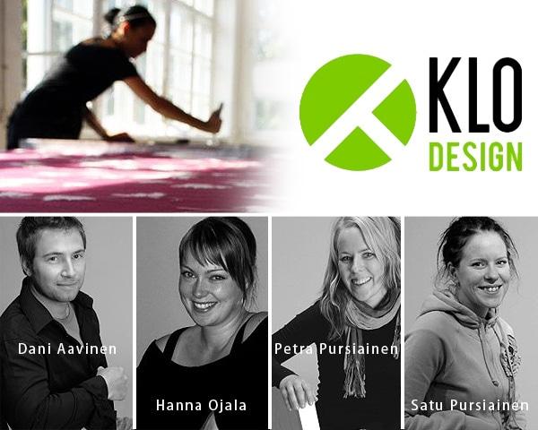 フィンランド・トゥルクのデザイナーズ集団 KLO Design(クロ デザイン)のハンドメイド